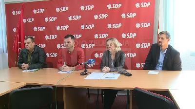 PRESS KONFERENCIJA: GRADSKI ODBOR SDP-A BIHAĆ O VANREDNOJ SJEDNICI VIJEĆA