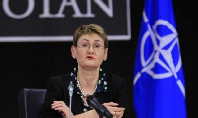 GLASNOGOVORNICA NATO-A OANA LUNGESCU: RADUJEMO SE SARADNJI S BIH