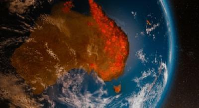 AUSTRALIJA SPREMA EVAKUACIJU 250.000 LJUDI: FOTOGRAFIJE IZ SVEMIRA POKAZUJU RAZMJERE PUSTOŠENJA