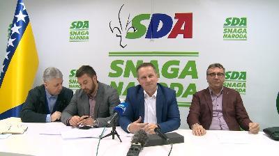 PRESS KONFERENCIJA  ZASTUPNIKA SDA U PARLAMENTU FBIH S PODRUČJA USK-A