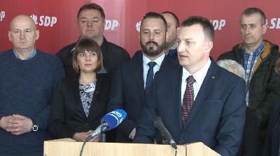 PRESS KONFERENCIJU DANAS ODRŽAO SDP GRADA BIHAĆA