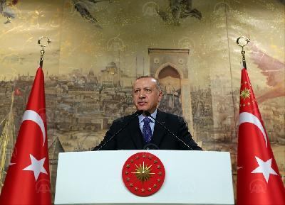 ERDOGAN: PITANJE SIRIJE ZA TURSKU NIKADA NIJE BILO AVANTURA, NITI POKUŠAJ PROŠIRENJA VLASTITIH GRANICA