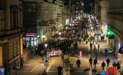 U SUBOTICI ODRŽAN PROTEST PROTIV MIGRANATA