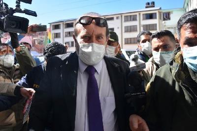 BOLE HAPŠENJA U BOLIVIJI: BOLIVIJSKI POLITIČARI U PRITVORU ZBOG KUPOVINE BESKORISNIH I PRESKUPIH RESPIRATORA
