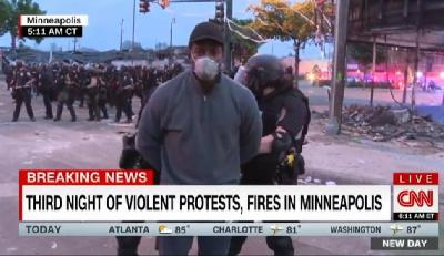 EKIPA CNN-A UHAPŠENA DOK JE IZVJEŠTAVALA O PROTESTIMA U MINNEAPOLISU