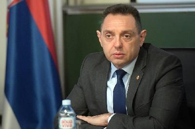 SRBIJA: VULIN POZITIVAN NA KORONAVIRUS