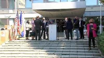 SARAJEVO: ERIC LARSON SPREMAN ZA BORBU PROTIV KORUPCIJE