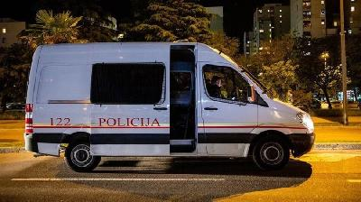 CRNA GORA: POLICIJA U PONEDJELJAK ZABILJEŽILA INCIDENTE U ŠEST GRADOVA