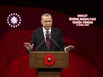 ERDOGAN O SITUACIJI NA ISTOČNOM MEDITERANU: SVI SU SHVATILI DA TURSKA NE PODLIJEŽE UCJENAMA