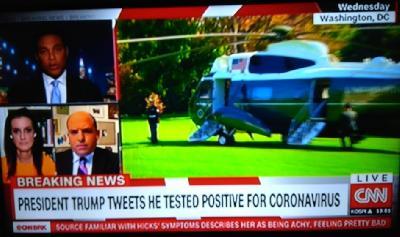 CNN: PREDSJEDNIK SAD-A DONALD TRUMP POZITIVAN NA KORONAVIRUS