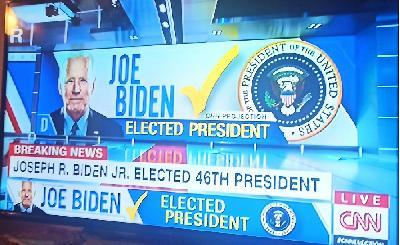 CNN: JOE BIDEN JE NOVI PREDSJEDNIK AMERIKE