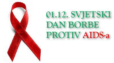 SVJETSKI DAN BORBE PROTIV AIDS-A: U BIH PROŠLE GODINE REGISTROVANO 24 ZARAŽENIH HIV-OM