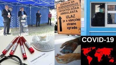 HRVATSKA: REGISTROVANA JOŠ 1.401 OSOBA ZARAŽENA KORONAVIRUSOM