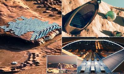 ZEMLJA NIJE DOVOLJNA: U SAMOODRŽIVOM GRADU NA MARSU MOĆI ĆE ŽIVJETI 250.000 LJUDI