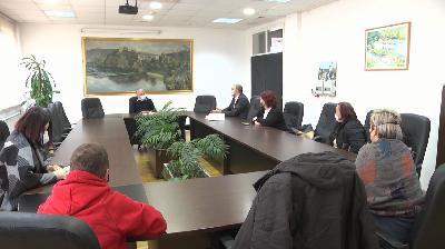 """OGREŠEVIĆ I HALITOVIĆ UGOSTILI AKTIVISTE UDRUŽENJA """"SRCE ZA DJECU OBOLJELU OD RAKA"""""""