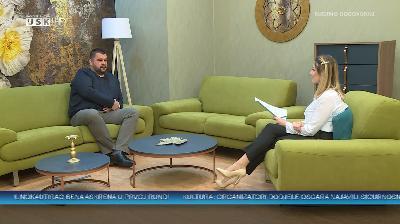 NEDJELJOM ZAJEDNO - GOST: PROFESOR HASAN BRKIĆ, SPORTSKI PROMOTOR FUTSALA