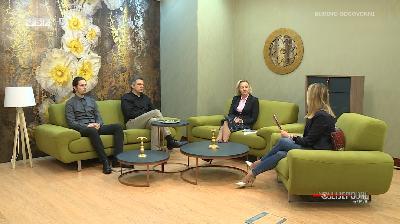 POSLIJEPODNE UZ RTV USK - GOSTI: PROF. DR. FATKA KULENOVIĆ, PROF. DR. DAMIR HODŽIĆ I STUDENT ZINAID KAPIĆ
