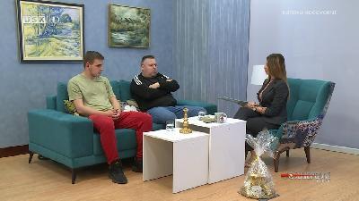 POSLIJEPODNE UZ RTVUSK - ARMIN MAHMUTSPAHIĆ  I NEMANJA TRNJAKOVIĆ
