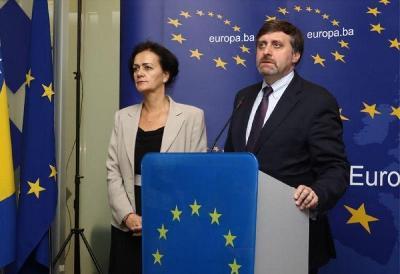 EU I SAD U BIH: EICHHORST I PALMER DANAS STIŽU U BOSNU I HERCEGOVINU