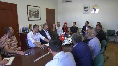 REGIONALNA SARADNJA GRADA CAZINA: DELEGACIJA TURSKOG GRADA DEVELIJA DOPUTOVALA U POSJETU