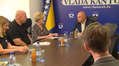 PREMIJER USK MUSTAFA RUŽNIĆ DANAS RAZGOVARAO S DŽILIJAN TRIGS, PREDSTAVNICOM UNHCR-A...