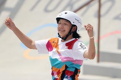 JAPANSKA 13-GODIŠNJA DJEVOJČICA OSVOJILA OLIMPIJSKO ZLATO U SKEJTBORDINGU