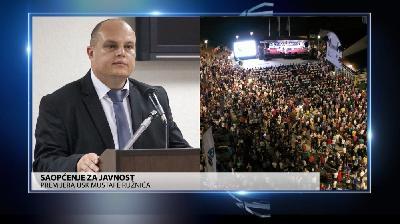 PREMIJER USK MUSTAFA RUŽNIĆ: 'SLOBODARSKI DANI' JEDNOSTAVNO JE  DOGAĐAJ IZNAD SVAKE POLITIKE