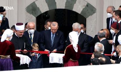 PREDSJEDNIK TURSKE ERDOGAN OTVORIO BAŠČARŠIJSKU DŽAMIJU