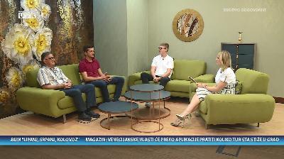 NEDJELJOM ZAJEDNO RTV USK - GOSTI: SAUD FILIPOVIĆ, EMIR FILIPOVIĆ I DINO SELMANOVIĆ