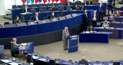 ŽESTOKE PORUKE U EU PARLAMENTU: ONO ŠTO RADI MILORAD DODIK ZVONI NA UZBUNU!